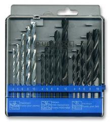 DURATOOL D00560  Combination Drill Set 15Pc